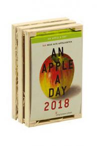 An Apple A Day 2018 Tages-Abreißkalender