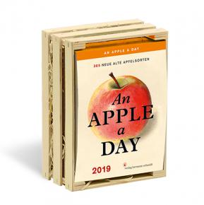 An Apple A Day 2019<br>Tages-Abreißkalender