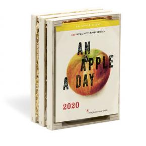 An Apple A Day 2020<br>Tages-Abreißkalender
