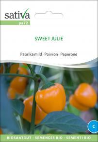 Paprika<br>&quot;Sweet Julie&quot;